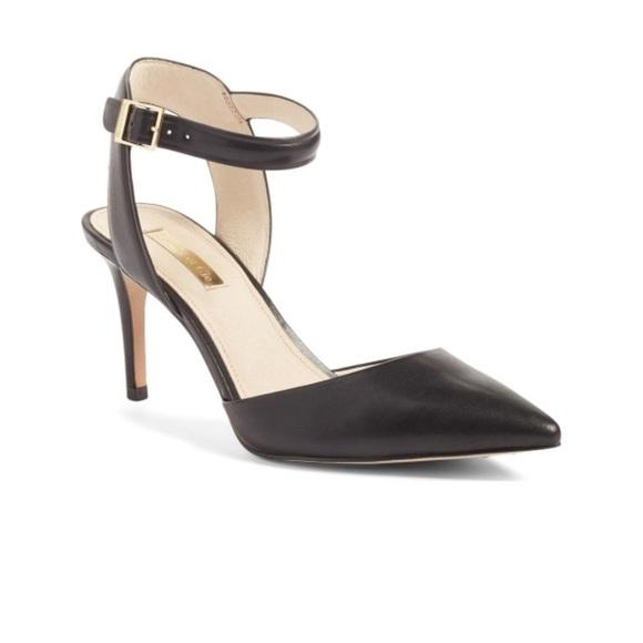 474591b423f Louise et Cie Shoes - Louise at Cie Kota Ankle Strap Pump Black 7 37